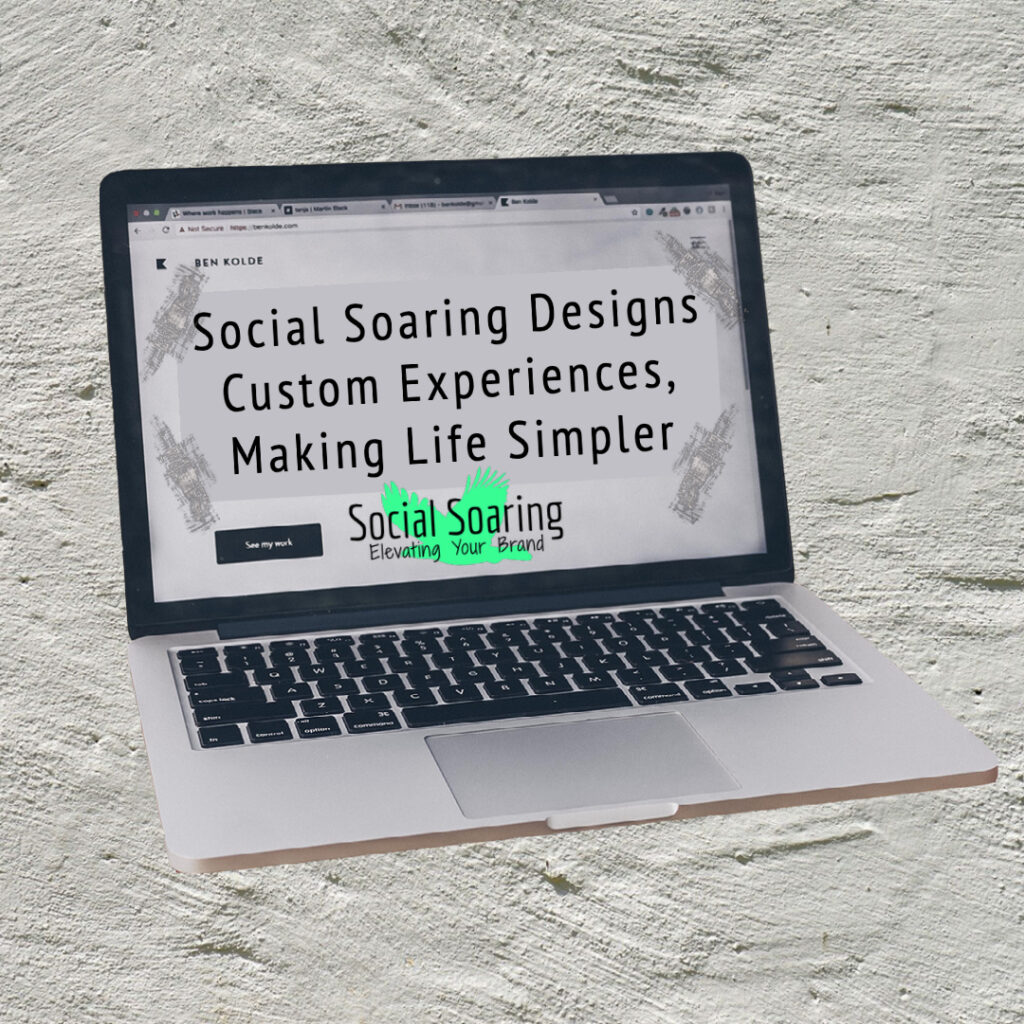 Website Design Done Differently By Social Soaring